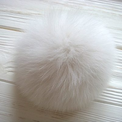 Real Arctic Fox Fur Pom Poms