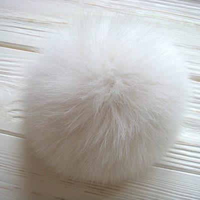 Real Arctic Fox Fur Pom Poms